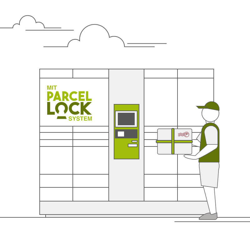 ParcelLock Paketstation Click und Collect